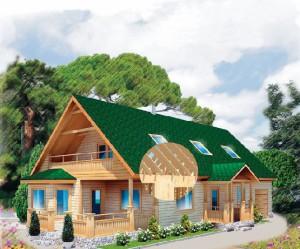 Каркасные дома из SIP панелей