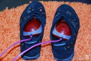 сухая обувь - следствие гидроизоляции подвала
